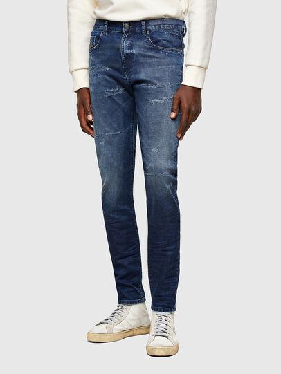 Diesel - D-Strukt JoggJeans® 069SL, Dunkelblau - Jeans - Image 1