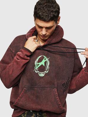 S-ALBY-ACID, Bordeauxrot - Sweatshirts