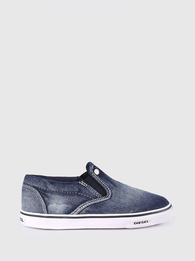 SLIP ON 21 DENIM CH, Jeansblau