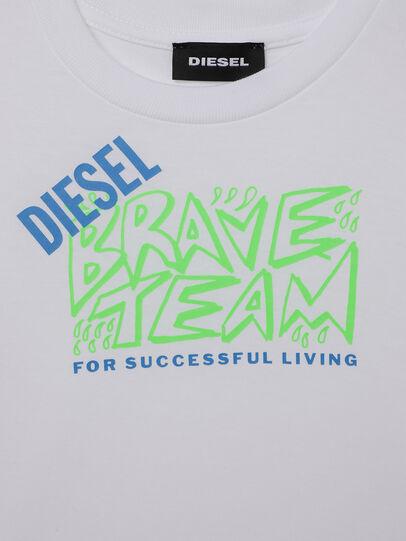 Diesel - TESSOB-R, Weiß - T-Shirts und Tops - Image 3