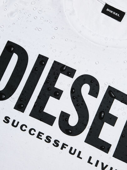 Diesel - T-SILY-WX, Weiß - T-Shirts - Image 4