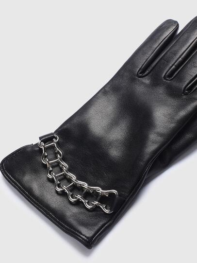 Diesel - G-PLACKI-A, Schwarz - Handschuhe - Image 2