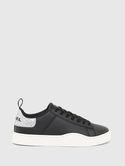 Diesel - S-CLEVER LOW LACE W, Schwarz/Silber - Sneakers - Image 1