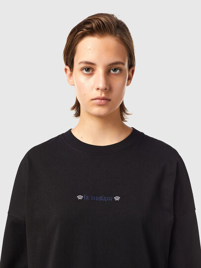Diesel - T-BLONG, Schwarz - T-Shirts - Image 3