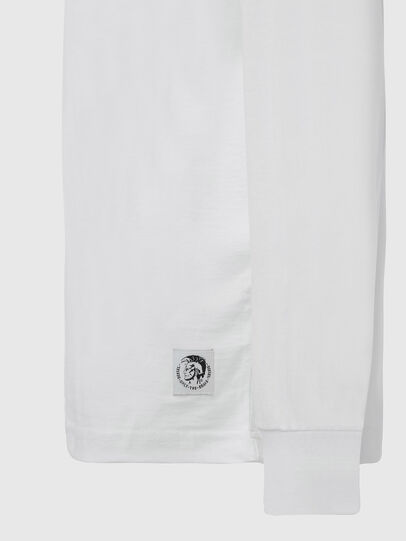 Diesel - T-JUST-LS-MOHI, Weiß - T-Shirts - Image 3