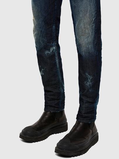 Diesel - Thommer JoggJeans 009KI, Dunkelblau - Jeans - Image 5
