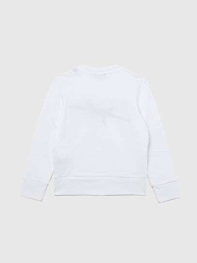 Diesel - SBAYBX5, Weiß - Sweatshirts - Image 2
