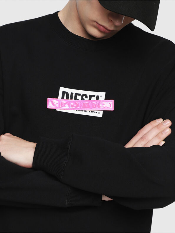 S-GIR-DIE, Schwarz - Sweatshirts