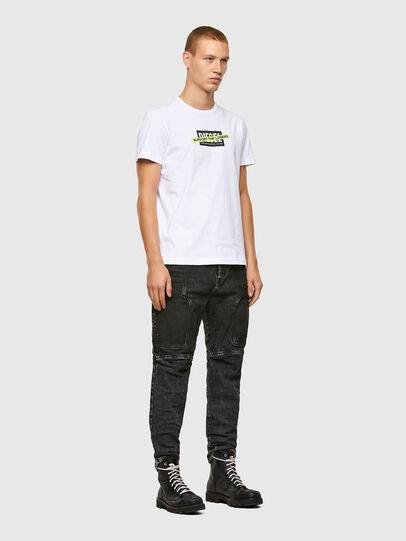 Diesel - T-DIEGOS-A3, Weiß - T-Shirts - Image 4