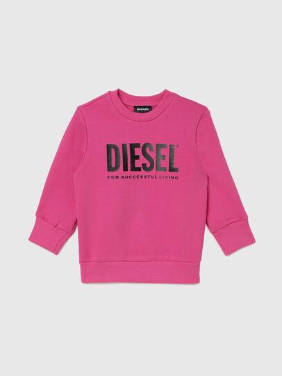 Diesel - SCREWDIVISION-LOGOB-, Rosa - Sweatshirts - Image 1