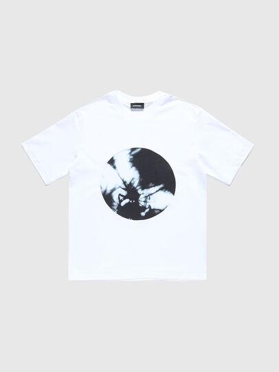 Diesel - TMOONYX2 OVER, Weiß - T-Shirts und Tops - Image 1