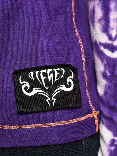 Diesel - T-LAPIS, Violett - T-Shirts - Image 5