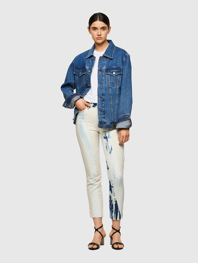 Diesel - D-Joy 009UX, Mittelblau - Jeans - Image 5