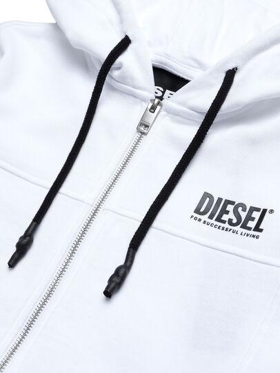Diesel - UFLT-VICTORIAL-HZ, Weiß - Sweatshirts - Image 3