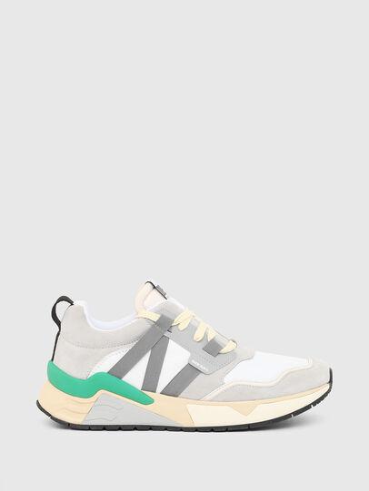Diesel - S-BRENTHA WL, Weiss/Grau - Sneakers - Image 1