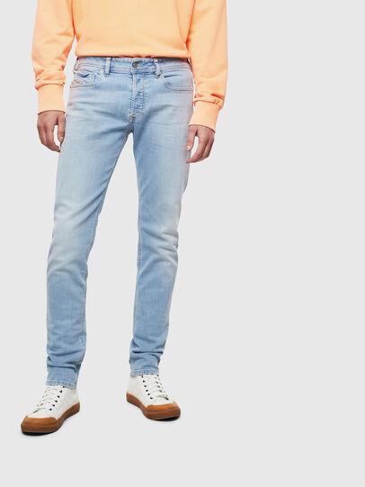 Diesel - Sleenker 009BJ, Hellblau - Jeans - Image 1