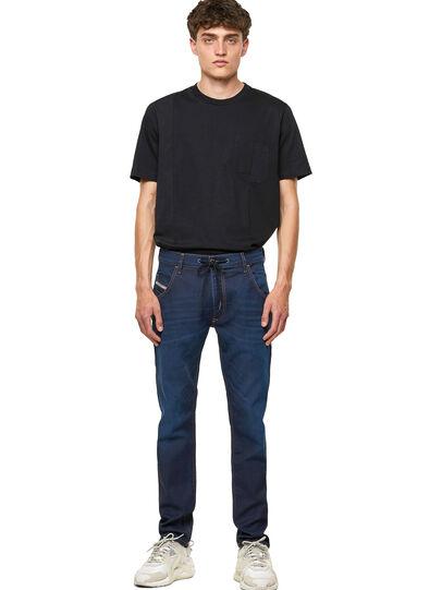Diesel - Krooley JoggJeans® Z69VZ, Dunkelblau - Jeans - Image 5