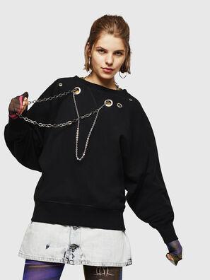 F-HENNY-B, Schwarz - Sweatshirts