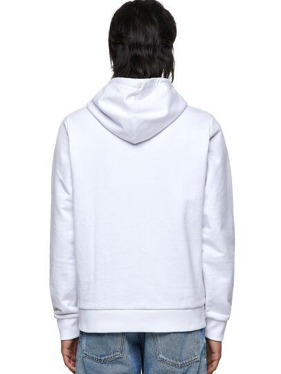 Diesel - S-GIRK-HOOD-ZIP-K1, Weiß - Sweatshirts - Image 2