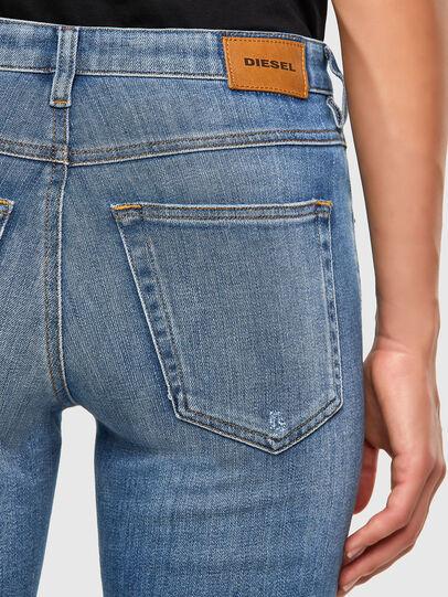 Diesel - Babhila 086AP, Mittelblau - Jeans - Image 4