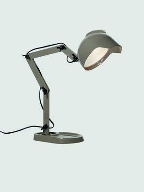 DUII TAVOLO, Grün/Grau - Tischlampen