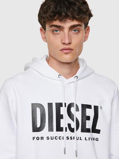 Diesel - S-GIRK-HOOD-ECOLOGO, Weiß - Sweatshirts - Image 3