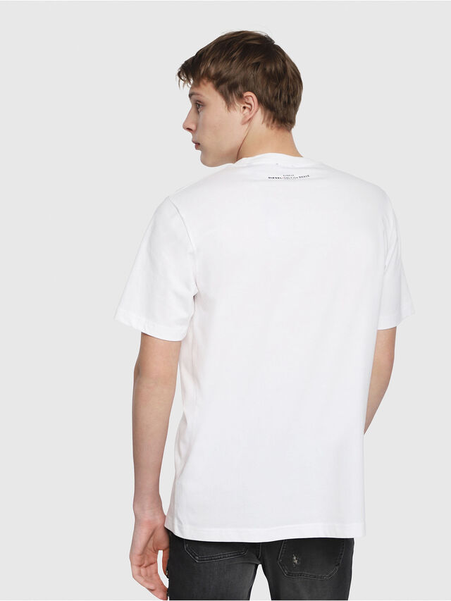 Diesel - T-JUST-YB, Weiß - T-Shirts - Image 2