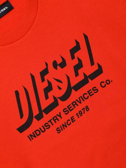 Diesel - SGIRKA74 OVER, Orange - Sweatshirts - Image 3