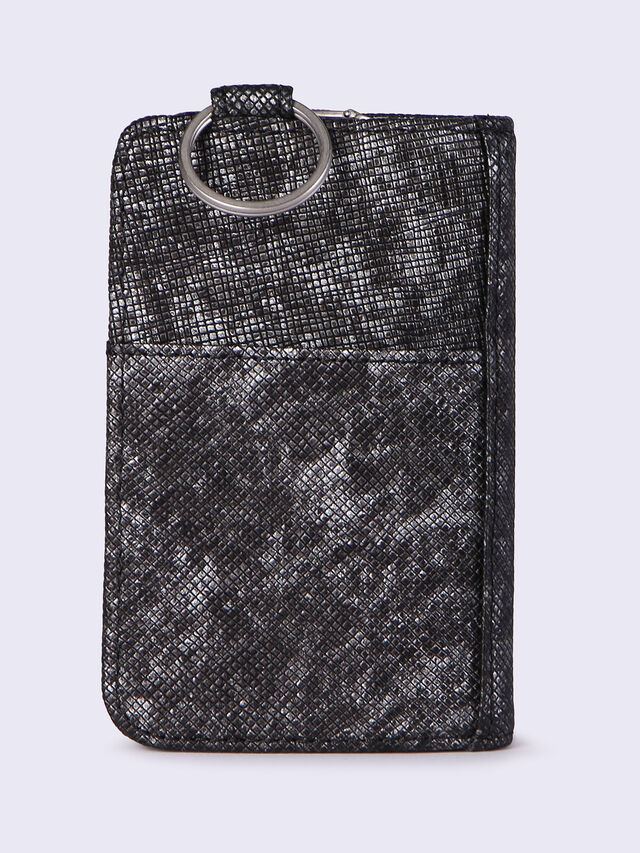 D-KEY HOLDER, Black/Gunmetal