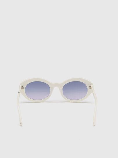 Diesel - DL0281, Weiß - Sonnenbrille - Image 4