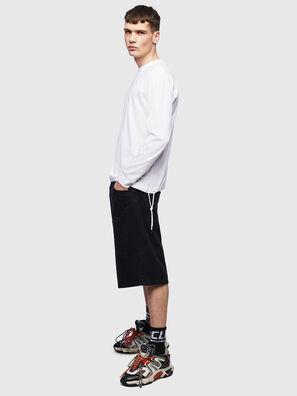 T-HUSTY-LS, Weiß - T-Shirts