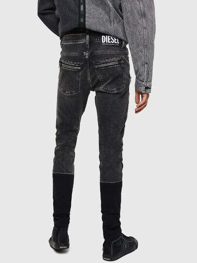 Diesel - D-Amny 0890T, Schwarz/Dunkelgrau - Jeans - Image 2