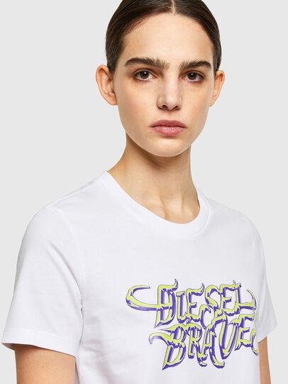 Diesel - T-SILY-K8, Weiß - T-Shirts - Image 3