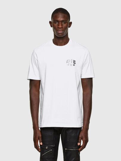 Diesel - T-JUST-SLITS-A30, Weiß - T-Shirts - Image 1