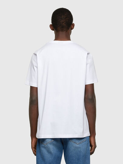 Diesel - T-JUST-A36, Weiß - T-Shirts - Image 2