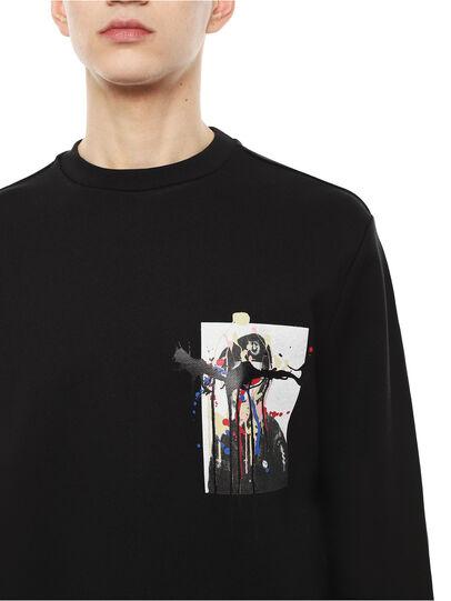 Diesel - SNEILB-DRIPPINGSOLDI,  - Sweatshirts - Image 3