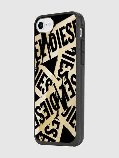 Diesel - MULTI TAPE GOLD/BLACK IPHONE 8/7/6S/6 CASE, Gold - Schutzhüllen - Image 5