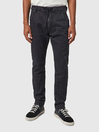 Diesel - Krooley JoggJeans® 069WB, Schwarz/Dunkelgrau - Jeans - Image 1