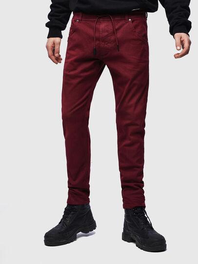 Diesel - Krooley JoggJeans 0670M, Bordeauxrot - Jeans - Image 1
