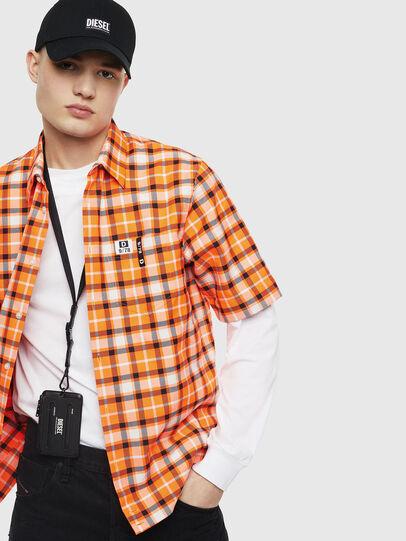 Diesel - S-ATWOOD-A, Orange - Hemden - Image 4