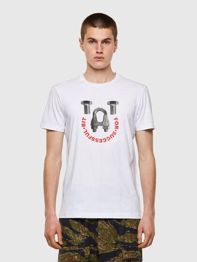 Diesel - T-DIEGOS-B3, Weiß - T-Shirts - Image 1