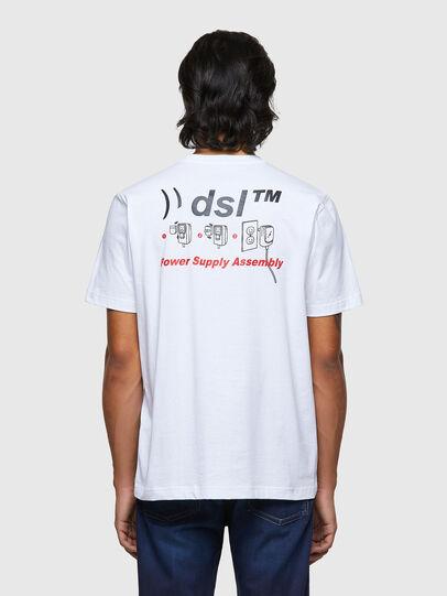 Diesel - T-JUST-B56, Weiß - T-Shirts - Image 2