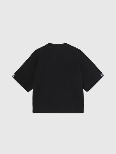 Diesel - UFTEE-SHORTEE, Schwarz - T-Shirts - Image 2