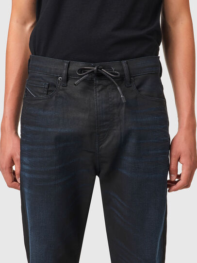Diesel - D-VIDER JoggJeans® 069XN, Schwarz/Dunkelgrau - Jeans - Image 3