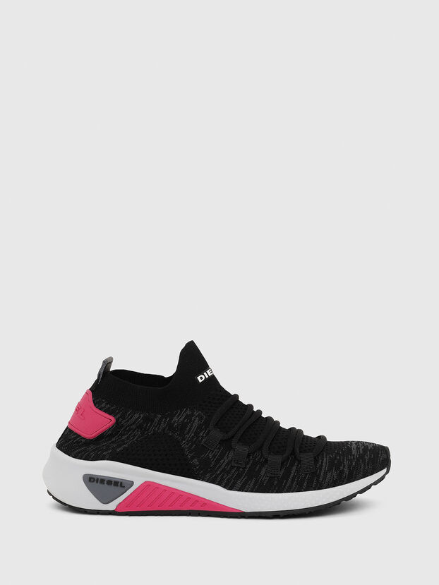 S-KB ATHL LACE W, Schwarz/Rosa - Sneakers