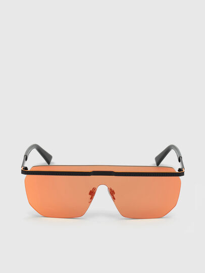 Diesel - DL0259, Orange/Schwarz - Sonnenbrille - Image 1