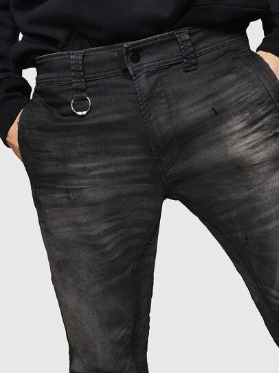 Diesel - D-Earby JoggJeans 069GN, Schwarz/Dunkelgrau - Jeans - Image 3