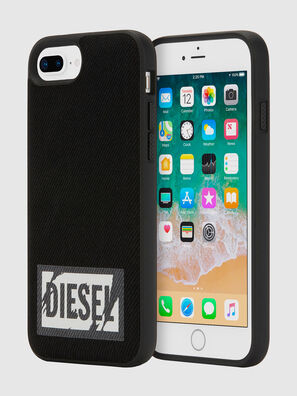 BLACK DENIM IPHONE 8 PLUS/7 PLUS/6S PLUS/6 PLUS CASE,  - Schutzhüllen