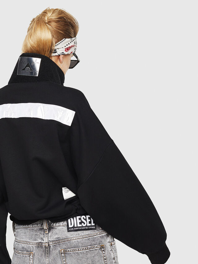 Diesel - F-AVAH, Schwarz - Sweatshirts - Image 2
