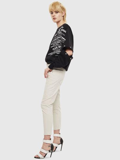 Diesel - Fayza 009BX, Schmutziges Weiß - Jeans - Image 4